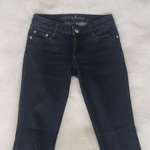 Dark wash low-rise 24